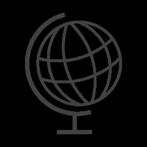 地球儀のアイコン02