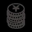 積み上がった円のコインのアイコン02