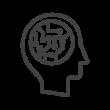 AI(人工知能)・頭脳のアイコン