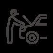 カーメンテナンス/整備のアイコン