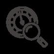 メーター点検のアイコン