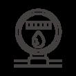 水道メーターのアイコン