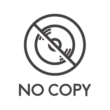 ディスクへのコピー禁止のアイコン