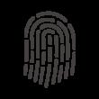 指紋のアイコン
