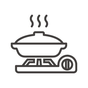 鍋料理/カセットコンロのアイコン