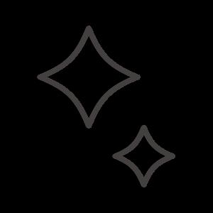 キラキラのアイコン02