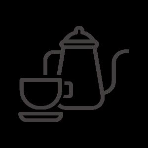 コーヒー/紅茶/ポットのアイコン