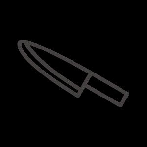 出刃包丁のアイコン