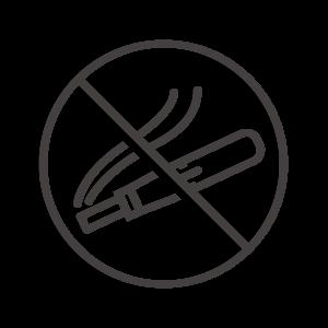 電子タバコ/加熱式タバコの禁止・禁煙アイコン02