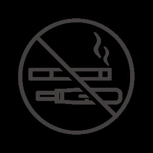 電子タバコ/加熱式タバコを含む禁煙のアイコン02