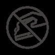 タバコ/煙草のポイ捨て禁止のアイコン
