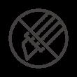カッターの使用禁止アイコン