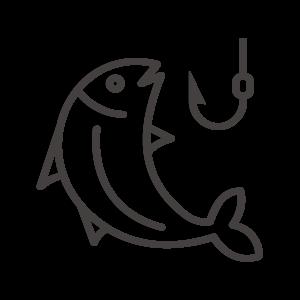 魚釣りのアイコン02