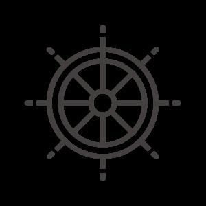 舵のアイコン