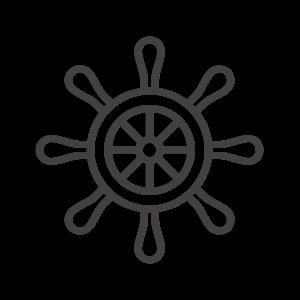 舵のアイコン02