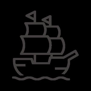 帆船のアイコン02