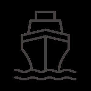 船(正面)のアイコン02