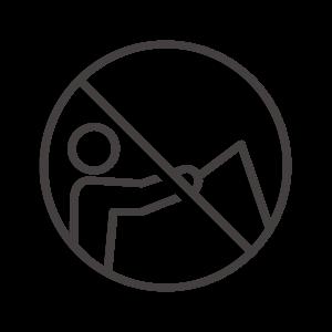 魚釣り禁止のアイコン02