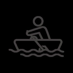ボートと人のアイコン