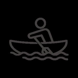 ボートと人のアイコン02