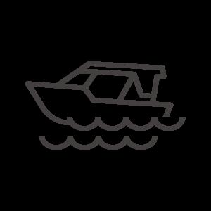 モーターボート/船のアイコン02