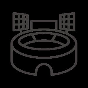 野球場/スタジアムのアイコン02