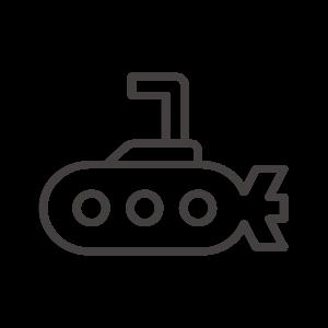 潜水艦のアイコン02