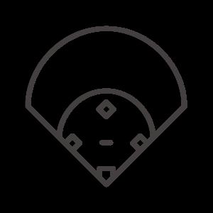 野球グラウンドのアイコン02
