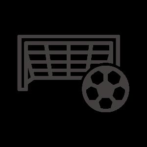 サッカーのゴールのアイコン02