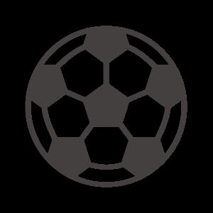 サッカーボールのアイコン
