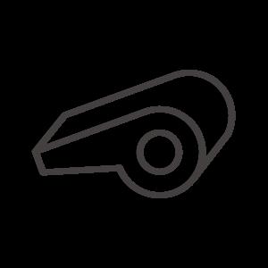 ホイッスル/笛のアイコン02