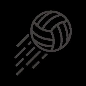 バレーボールのアイコン02