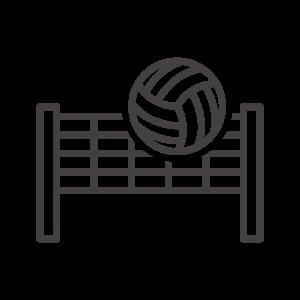 バレー/スポーツのアイコン