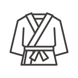 柔道着のアイコン