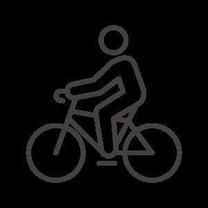 サイクリング/自転車のアイコン03