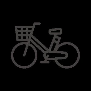 電動アシスト自転車のアイコン