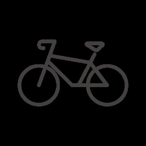 ロードバイクのアイコン