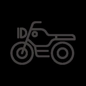 バイク/オートバイのアイコン